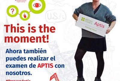 Con nuestro curso de inglés FastPass & Go podrás obtener tu certificado APTIS de B1 en menos de un mes! Por sólo 240€ TODO INCLUIDO